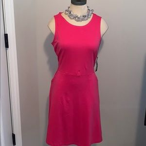 New York & Company S Pink Aline Dress